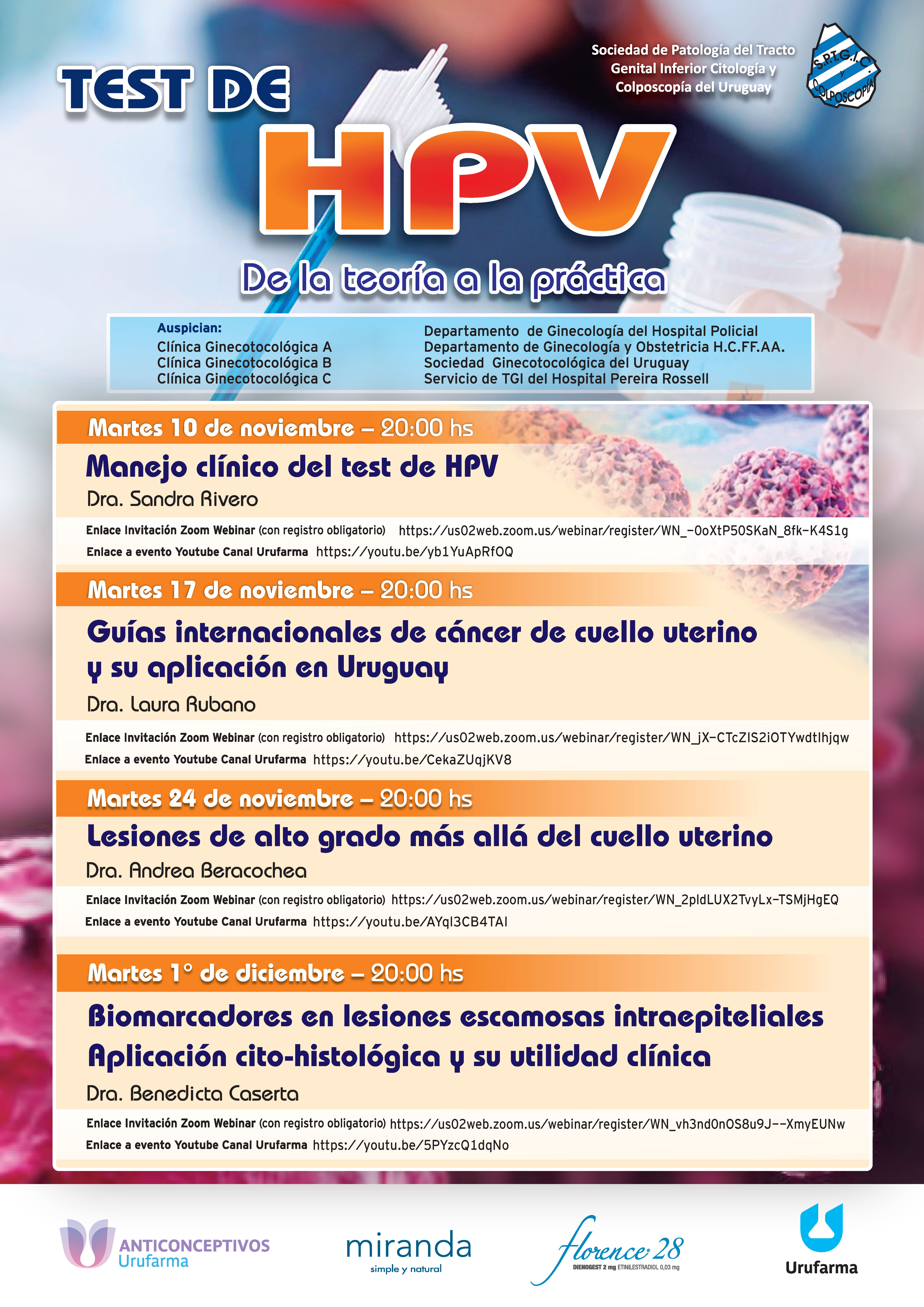Test detecție HPV risc înalt – Clinica Micomi